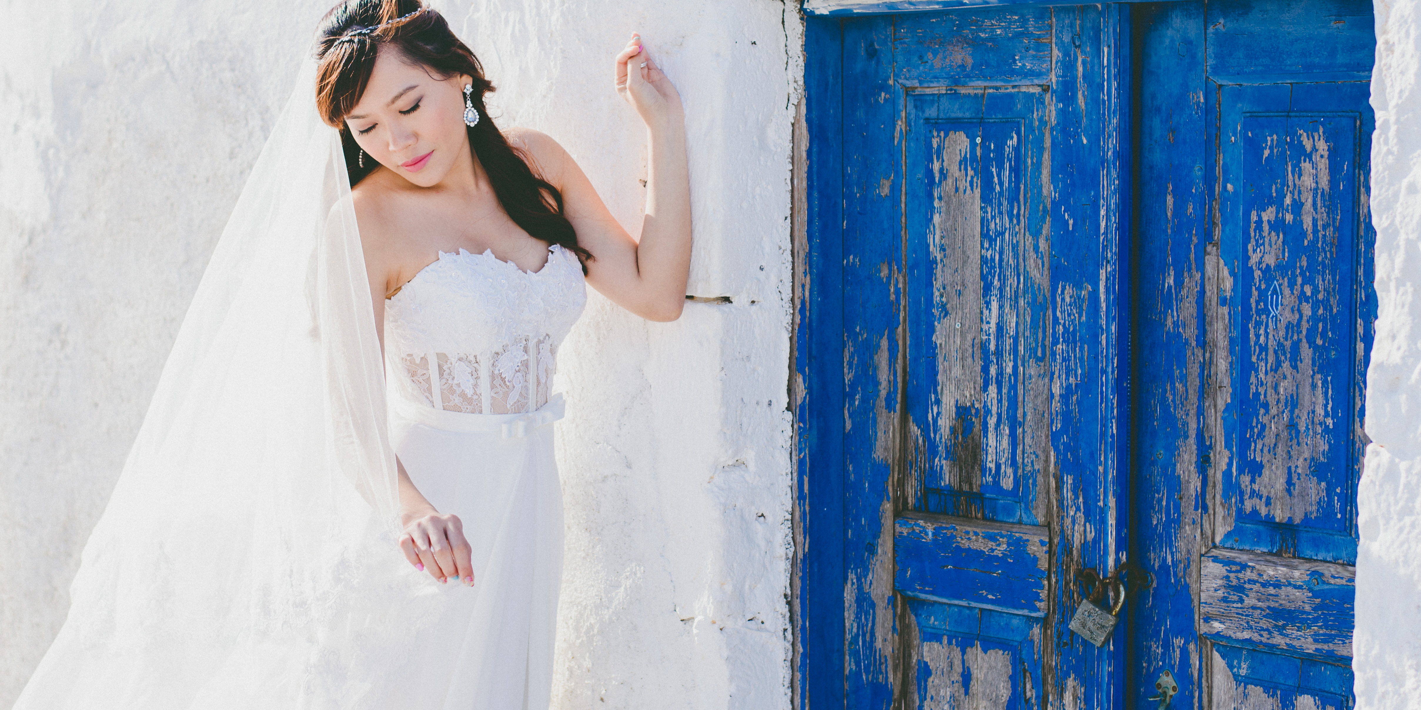 Cathryn & Jing, Session in Santorini