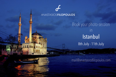 Photo-session in Istanbul, Turkey