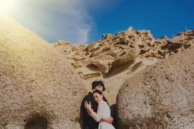 Edith & Kim, Santorini