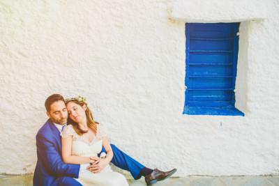 Anna & Stefanos, Wedding in Andros