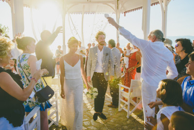 Clementine & Pierre-Marie, Wedding in Hydra