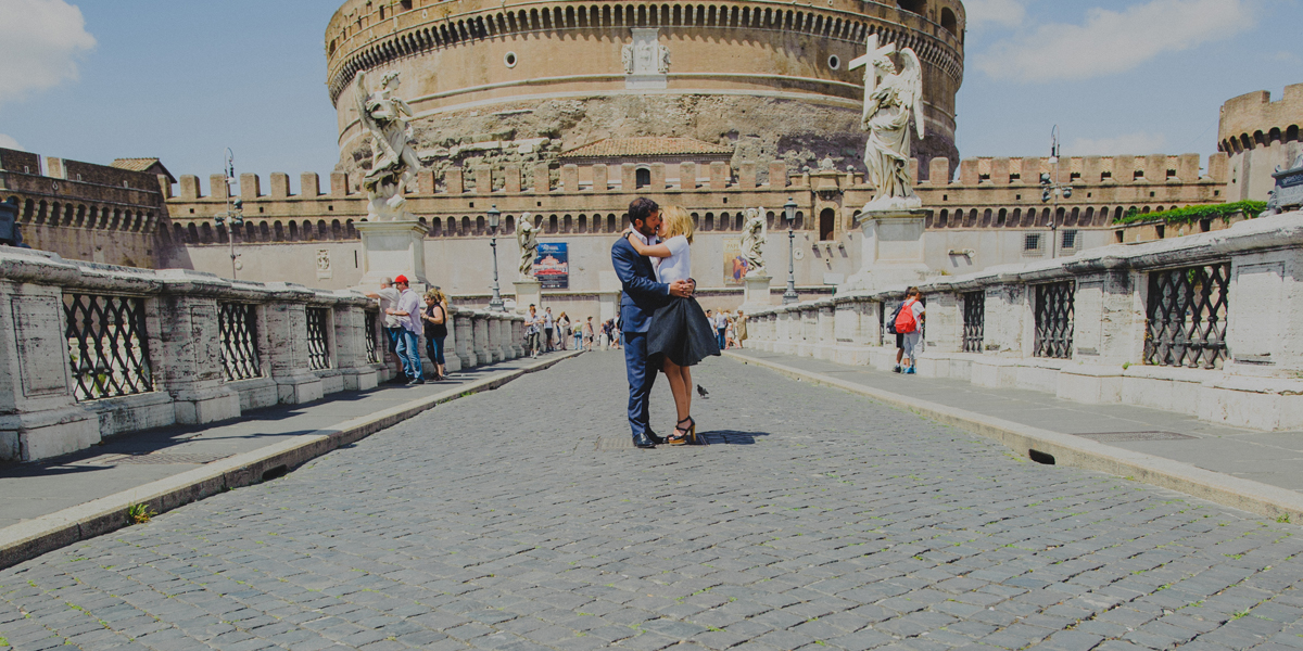 Francesca & Francesco, One Couple.One Love.One Eternal city